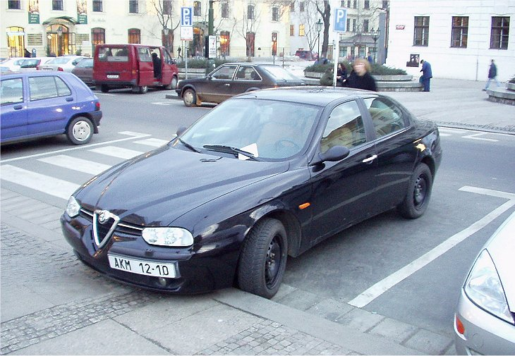 alfa romeo 156 1 6 twin spark 2000 auta5p id 422 ger. Black Bedroom Furniture Sets. Home Design Ideas