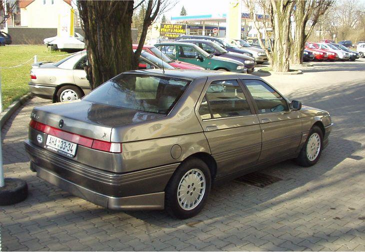Alfa Romeo 164 3.0 V6 Automatic , Itálie 1991 (1991-1992)