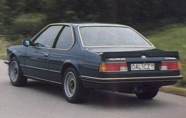 BMW Alpina B7 Turbo Coupé