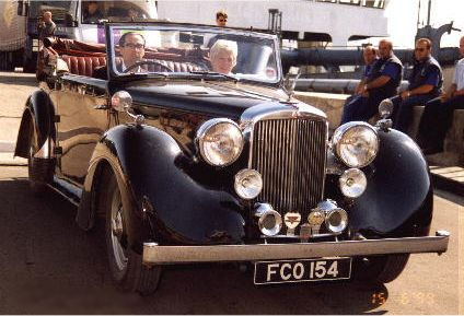 Alvis TA 14 Drophead Coupé Carbodies