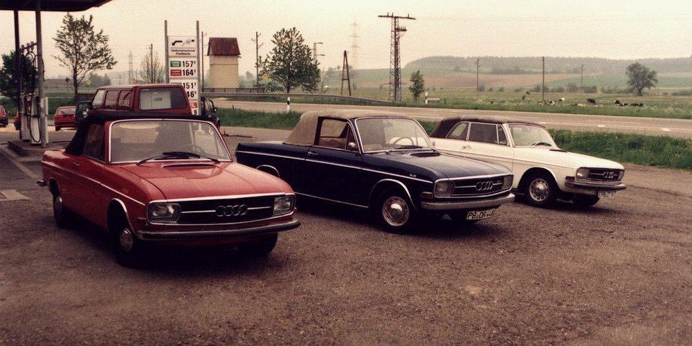 Deutsch Audi Super 90 Cabriolet 1968