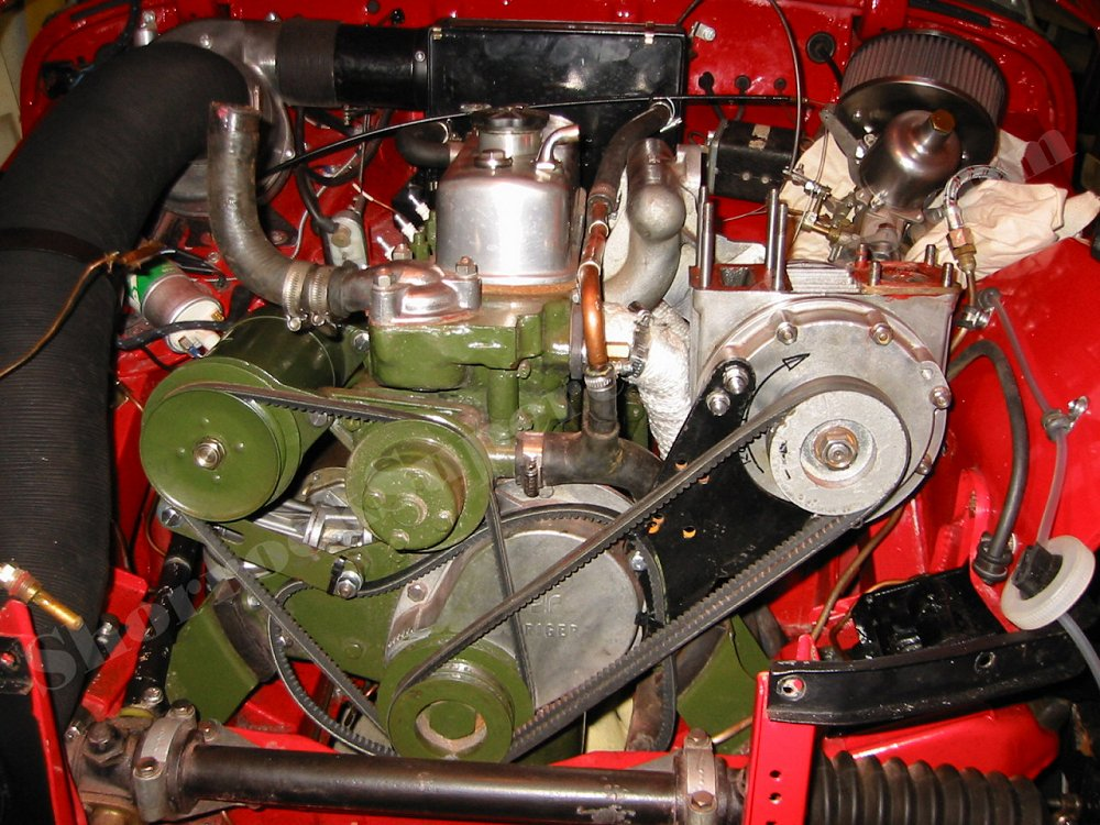 Austin Healey Sprite Shorrock Supercharger Mk I 1960