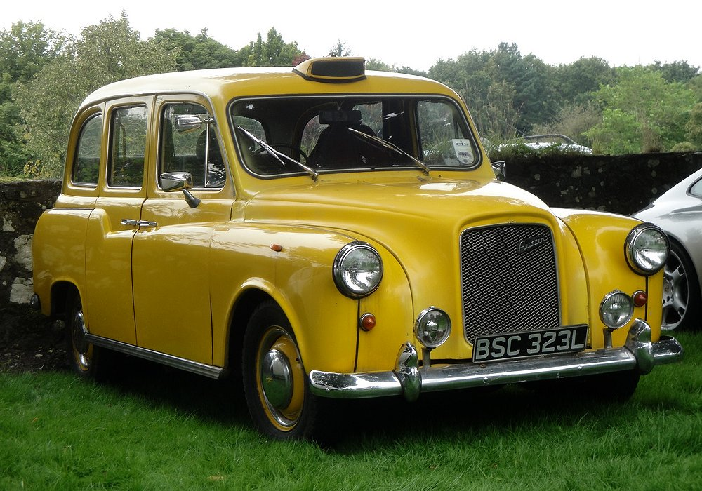 Austin FX4D Taxi 2.5 Diesel, 1972 Auta5P ID: