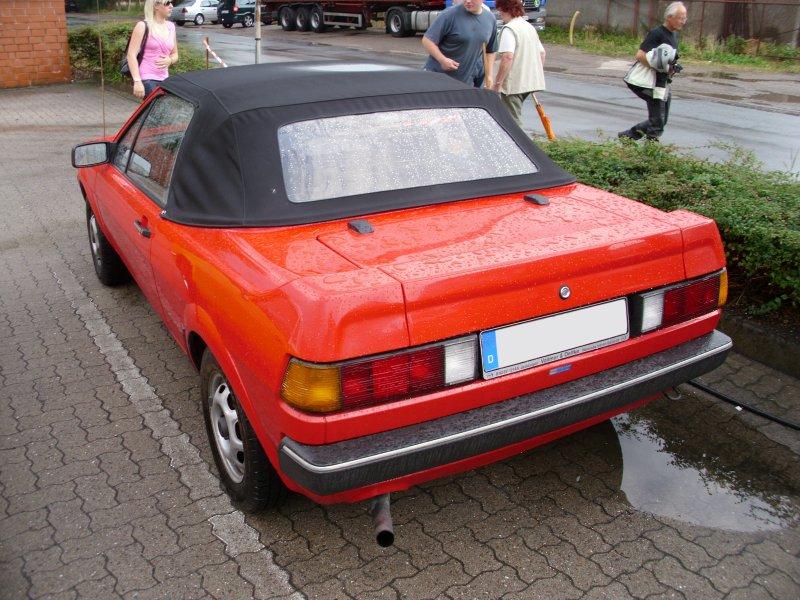 Bieber Volkswagen Scirocco 16V Cabrio, 1985 [Auta5P ID:17523 EN]
