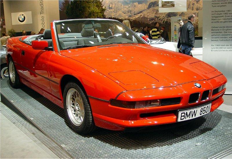 Bmw 850 Ci Cabriolet 1990 Auta5p Id 1886 En