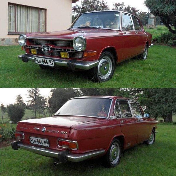 Bmw Year 2000: BMW 2000 SA, 1970 [Auta5P ID:19703 EN]