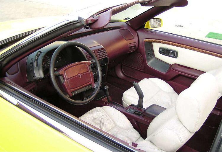 chrysler le baron convertible 3 0 v6 1990 auta5p id 2943 fr. Black Bedroom Furniture Sets. Home Design Ideas