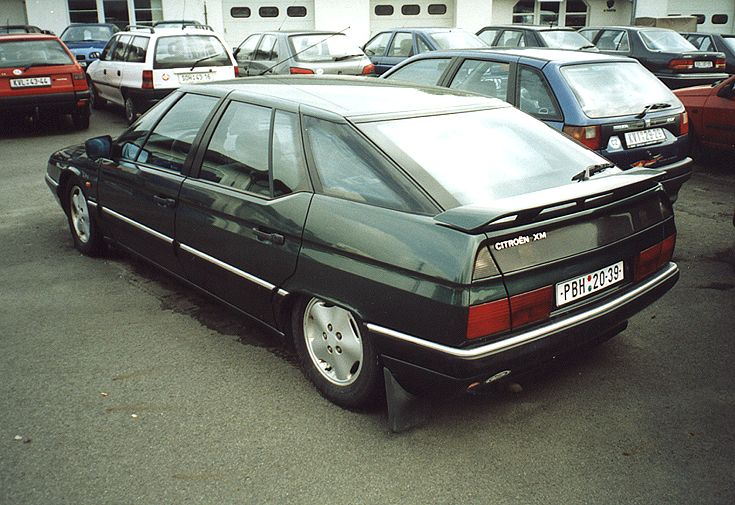 Citroën XM turbo D12