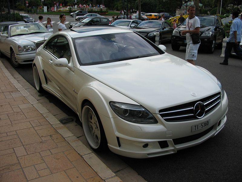 Fab design mercedes benz cl 600 v12 biturbo 2007 auta5p id 4485 fr