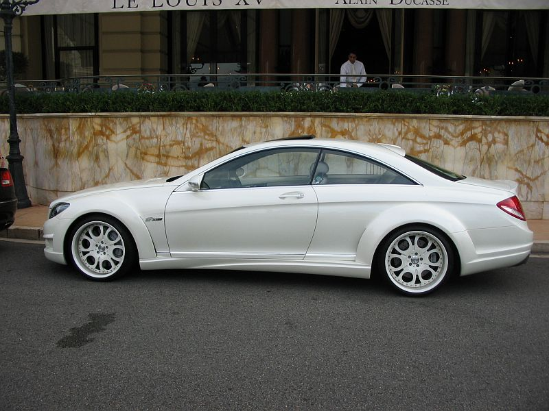 fab design mercedes benz cl 600 v12 biturbo 2007 auta5p