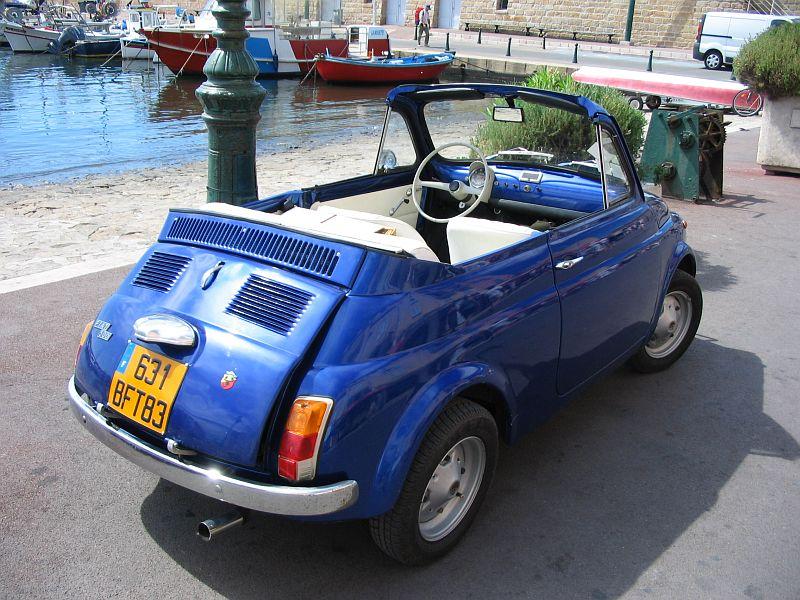 abbastanza Fiat 500 F Cabriolet, 1970 [Auta5P ID:4775 EN] VJ08