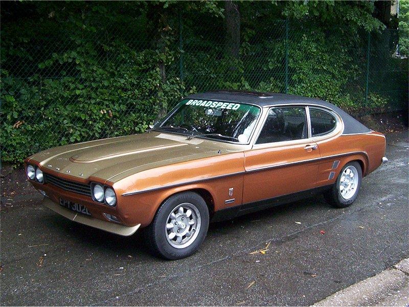 Ford Capri Broadspeed Turbo Bullit 1973 Auta5p Id 5749 En