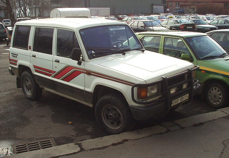 Isuzu Trooper 2.8 D
