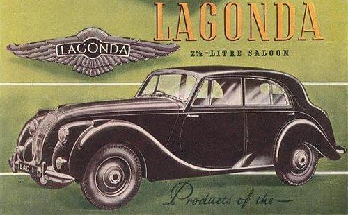 Lagonda 2.5 Litre Saloon