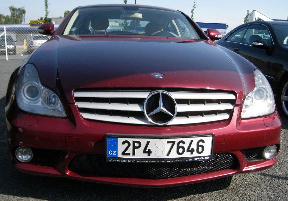 Mercedes benz cls 55 amg 2005 auta5p id 9510 cz for Mercedes benz cls 2005