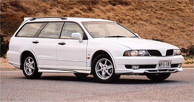 Mitsubishi Magna Sports Wagon  2002  Auta5p Id 10032 En