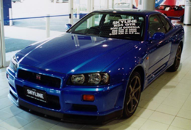 Nissan Skyline Gt R R34 1998 Auta5p Id 10520 En