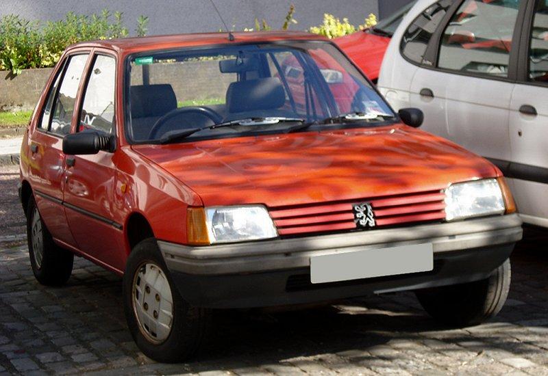 Peugeot 205 Gld 1 8  1990  Auta5p Id 11456 Cz