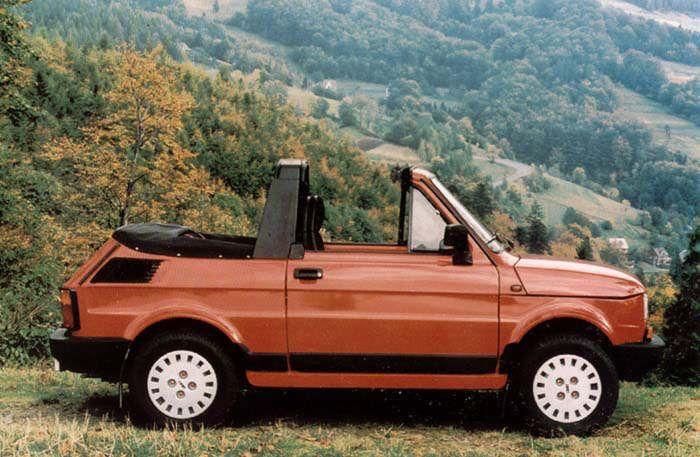 polski fiat 126 p cabrio 1985 auta5p id 5849 en. Black Bedroom Furniture Sets. Home Design Ideas
