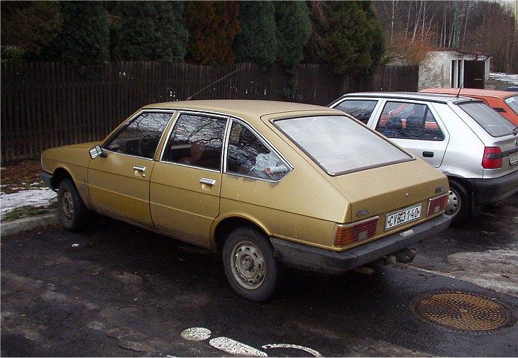 Chrysler Simca 1307 GLS , Francie 1975 až 1979