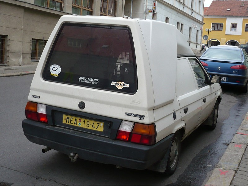 Škoda Forman 136 LXi Van Plus