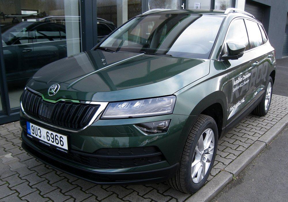 Škoda Karoq 1.5 TSI 110 kW DSG, 2017 [Auta5P ID:23650 CZ]