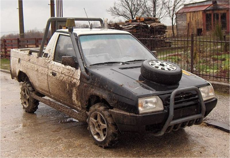 Škoda Pick-Up Tuning