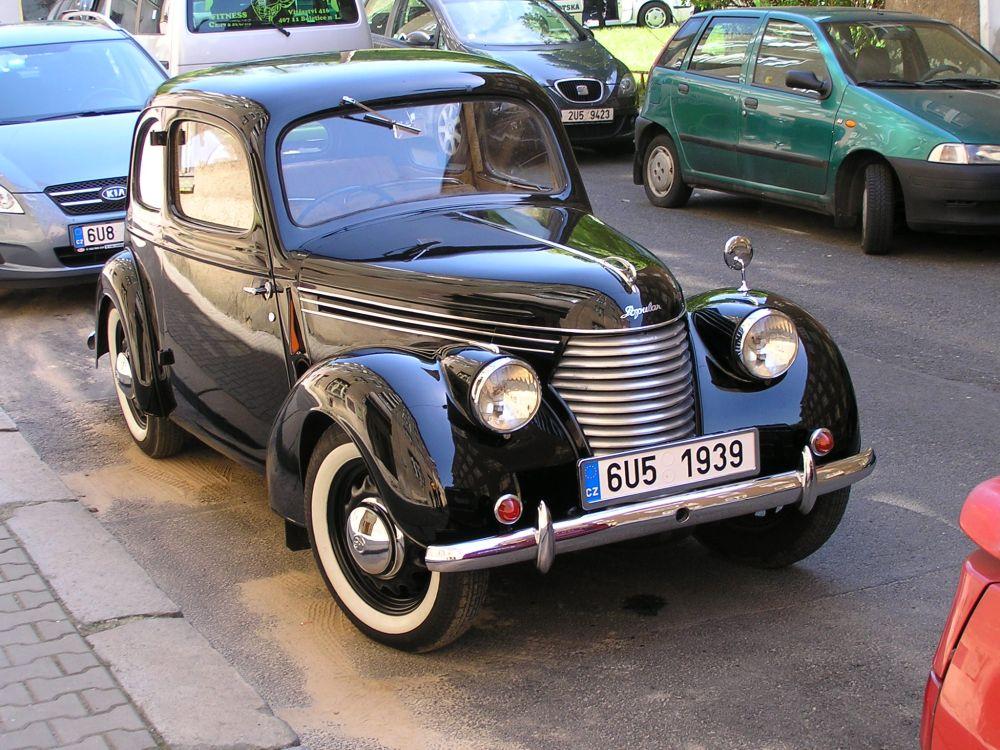Škoda Popular 1100 OHV Tudor