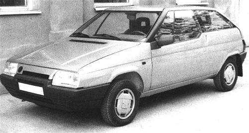 Škoda 783 Favorit Coupé, 1987