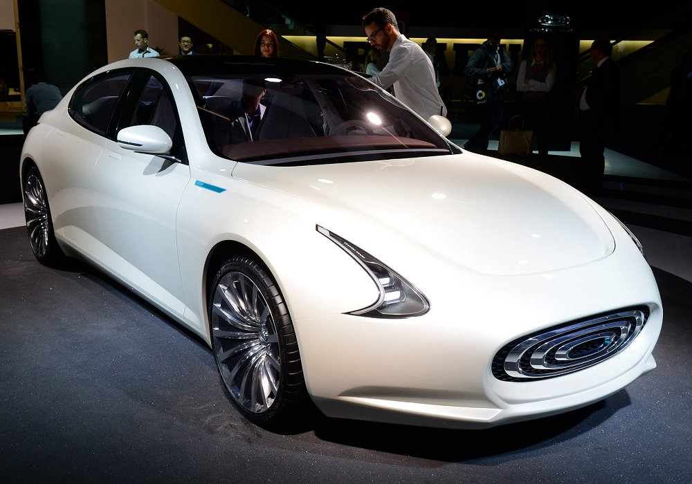 Thunder Power EV Sedan Concept