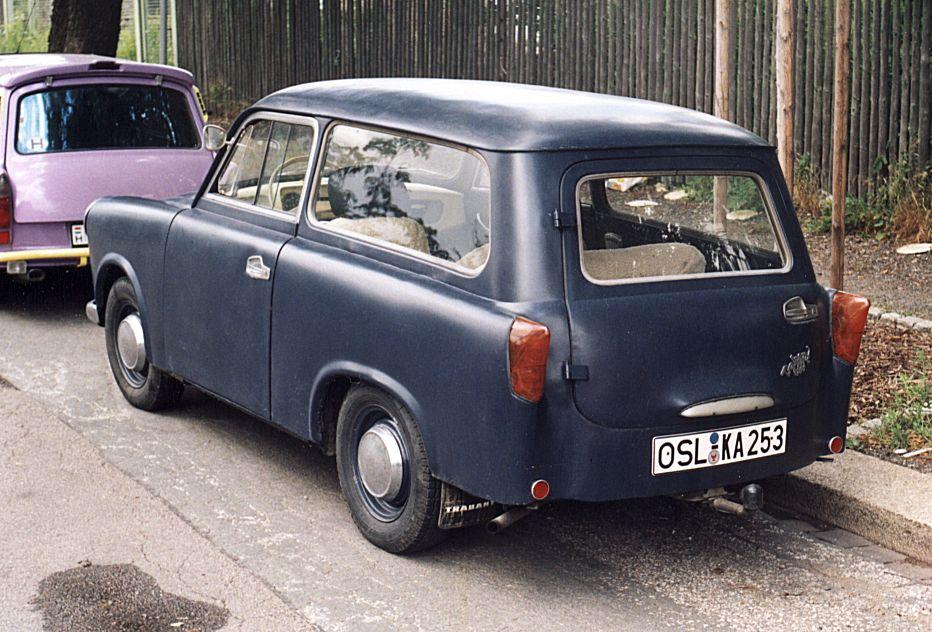 trabant 600 kombi 1963 auta5p id 15995 ger. Black Bedroom Furniture Sets. Home Design Ideas