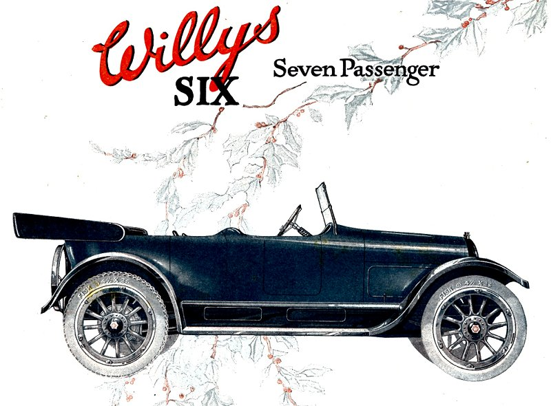 Willys Six 89 Touring