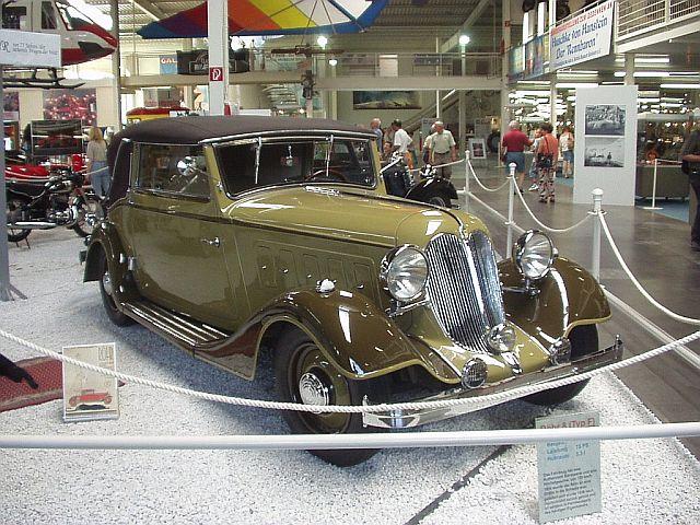 r hr 8 typ f cabriolet 1934 auta5p id 12824 ger. Black Bedroom Furniture Sets. Home Design Ideas