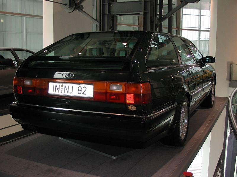 Audi V8 Avant 1989 Auta5p Id 1040 En
