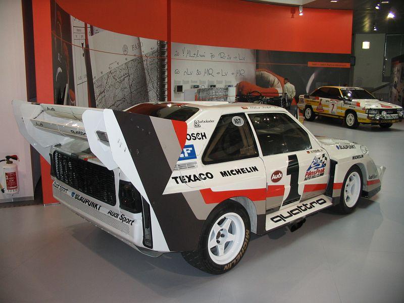 Audi Sport Quattro S1 Pikes Peak 1987 Auta5p Id 1012 Ger