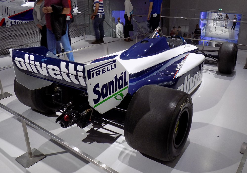Brabham BMW BT54 Turbo F1