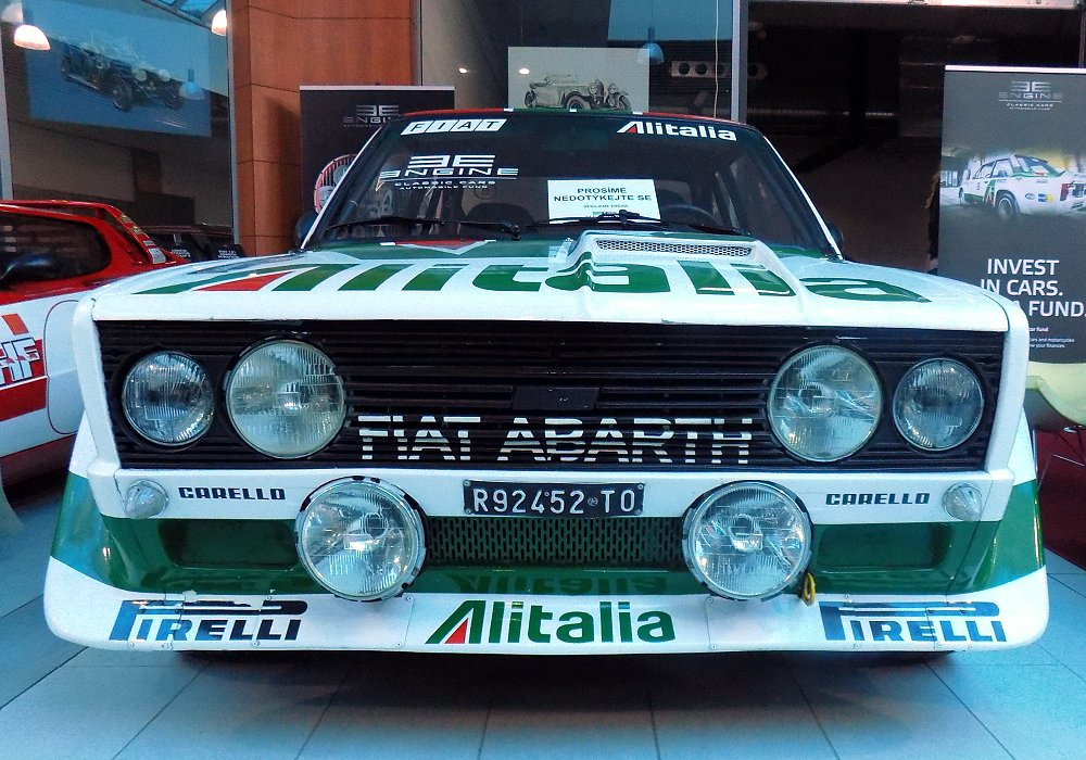 Fiat 131 Abarth Rally Group 4, 1978