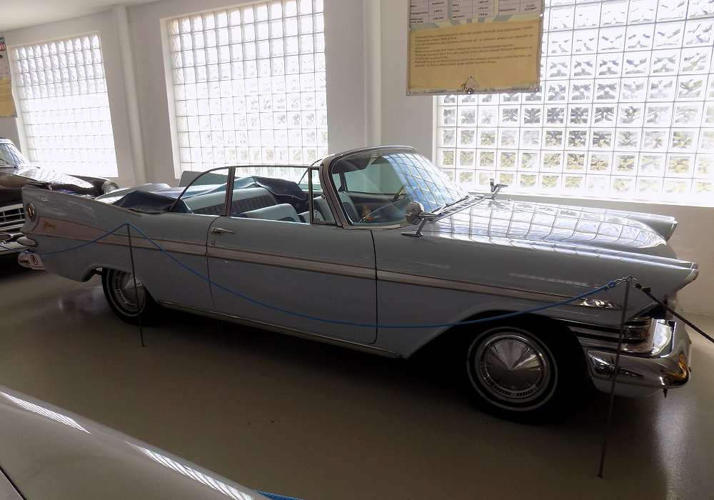 Plymouth Sport Fury Convertible, 1959