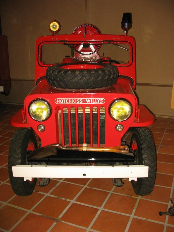 Hotchkiss Willys Jeep JH 101 13 CV
