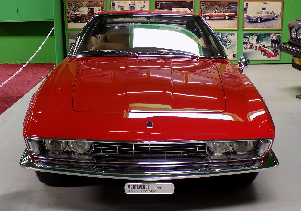 Monteverdi High Speed 375 S Prototyp, 1966