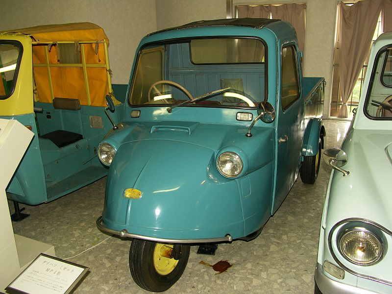Consider, Daihatsu midget wheelbase