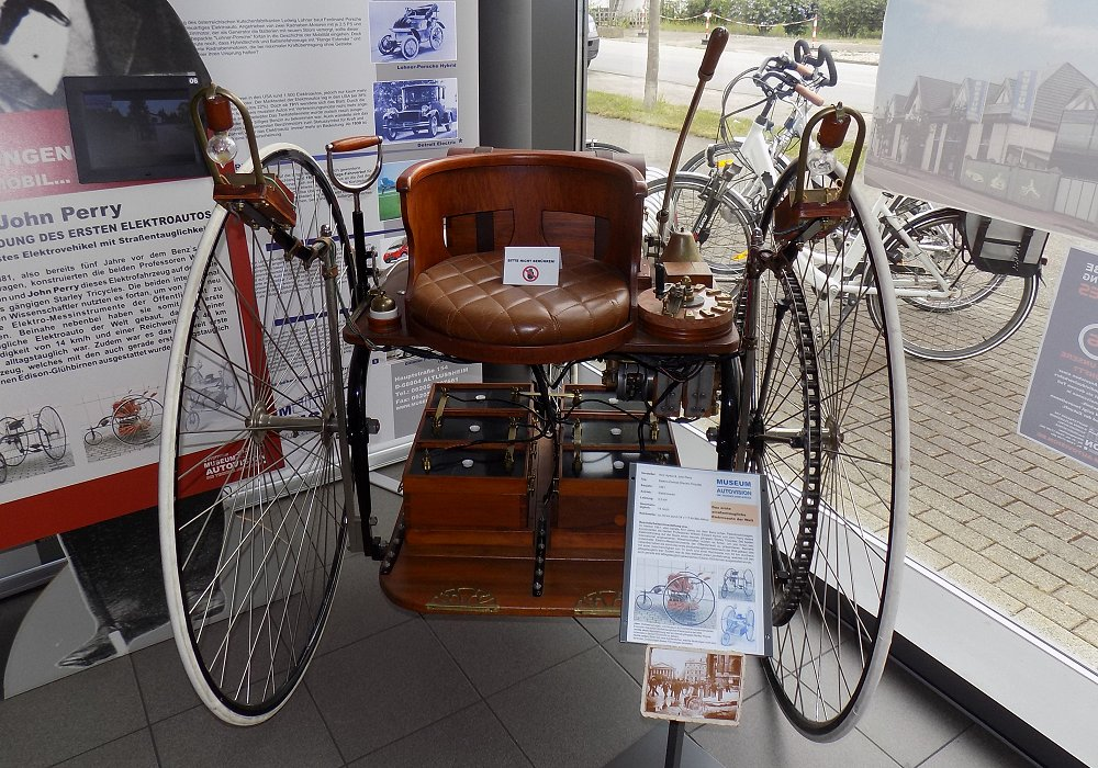 Ayrton & Perry Electric Tricycle
