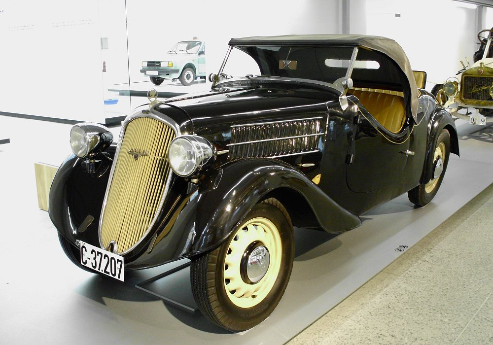 Škoda 420 Popular Roadster Typ 906, 1936