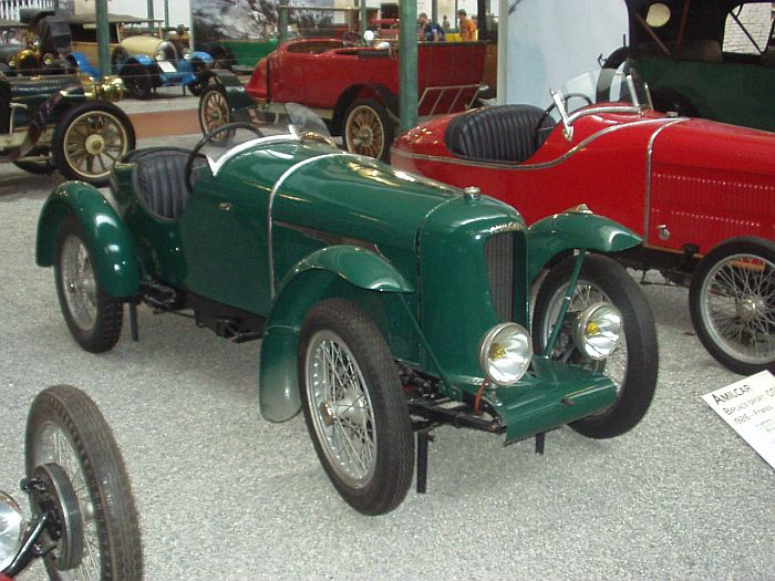 Amilcar CGSS Biplace Sport, 1926