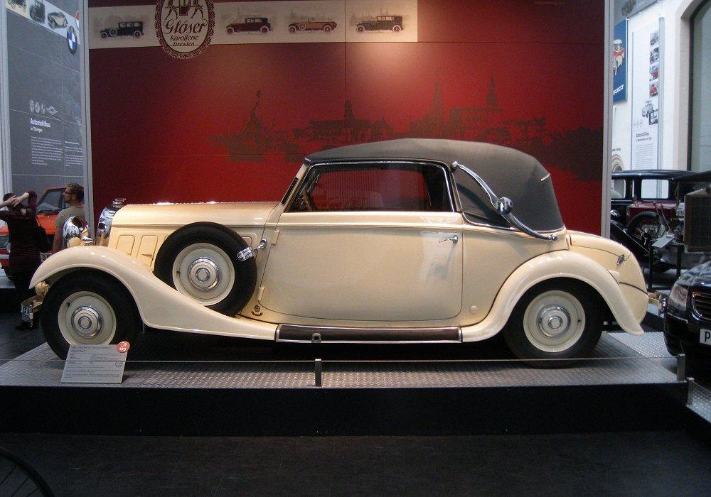 r hr 8 typ f cabriolet 1933 auta5p id 12823 ger. Black Bedroom Furniture Sets. Home Design Ideas