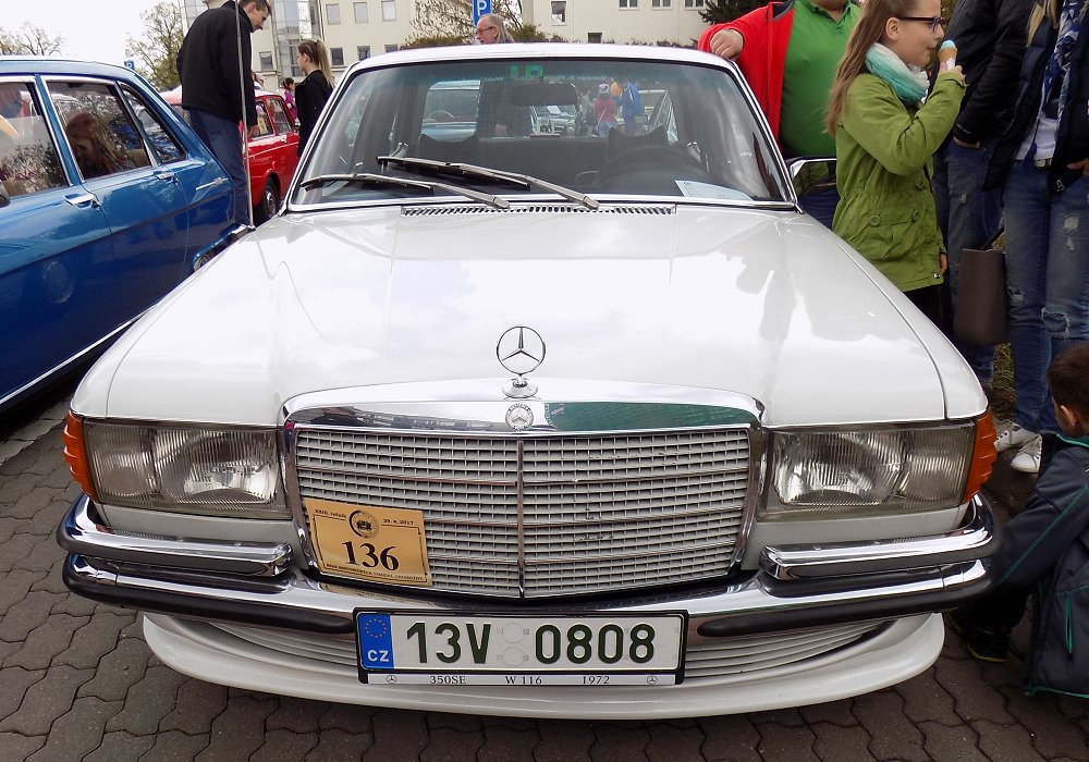 Mercedes-Benz 350 SE Automatic, 1972