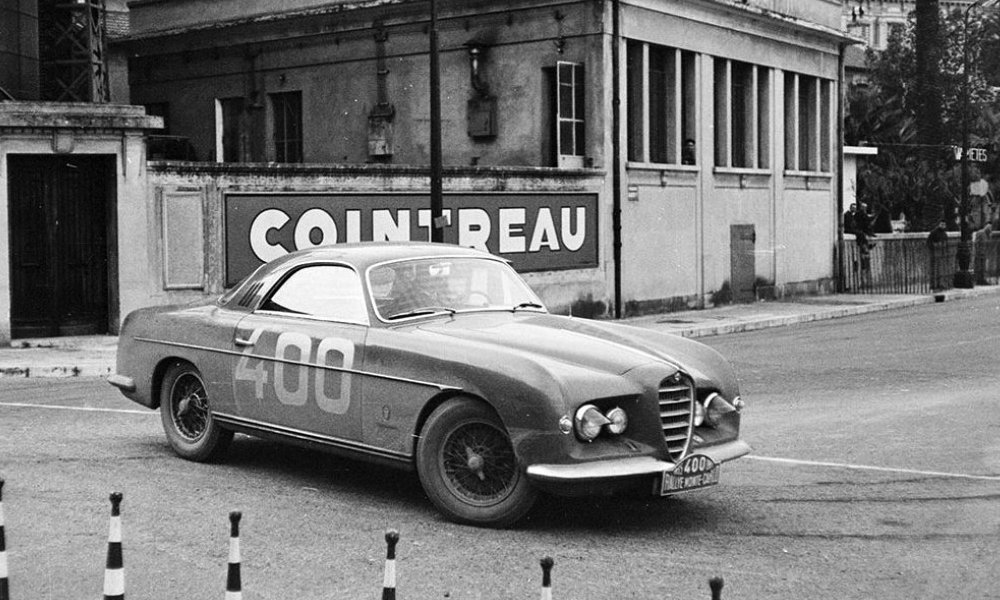 #pha.036221 Photo ALFA ROMEO 1900 C SPRINT SUPERGIOIELLO 1953-1954 GHIA