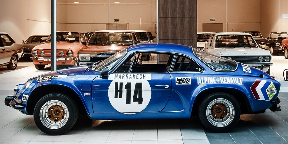 Alpine Renault A110 1600 S Rallye Group 4, 1971