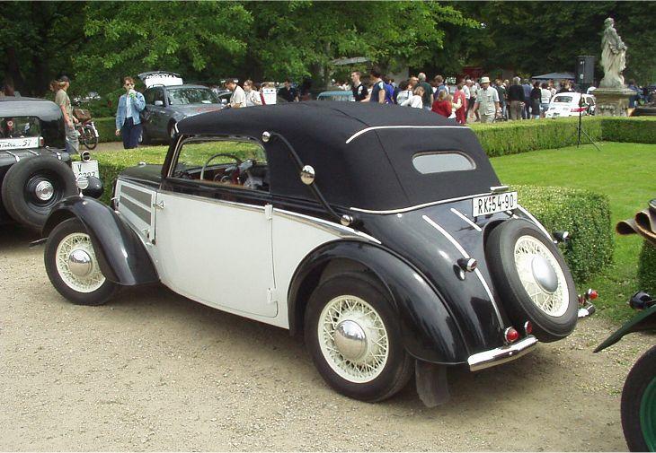 Dkw F8 Meisterklasse Cabriolet 1940 Auta5p Id 4113 Ger