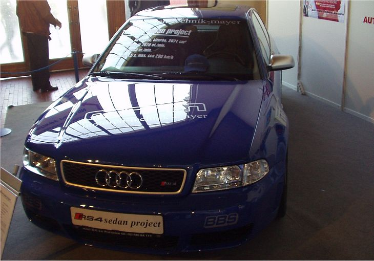 MTM Audi RS4 sedan project MTM 400 PS